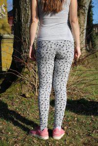 ebook Schnittmuster Umstandshose leggings schwangserschaft selber nähen Nähanleitung