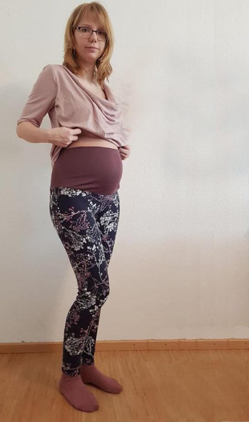 ebook Schnittmuster Anne sewing pattern maternity pants hose schwangerschaft umstandshose sewing diy selber nähen