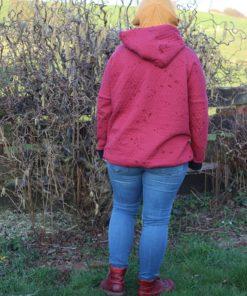 ebook Schnittmuster Alexia sewing pattern maternity nursing hoodie sweater oberteil pullover schwangerschaft umstandspulli Stillpullover sewing diy selber nähen