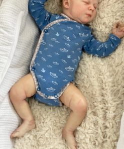 ebook Schnittmuster Baby Wickelbody William selber nähen