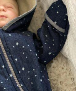 ebook Schnittmuster Baby Overall Sverre selber nähen